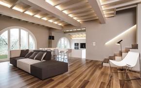 Picture Villa, interior, living space, First Love Villa