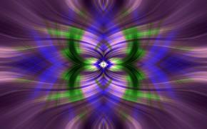 Picture fantasy, patterns, symmetry