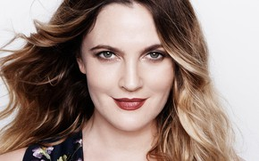 Picture smile, actress, Drew Barrymore