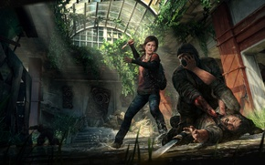 Picture Ellie, Game, The Last of Us, Joel, Naughty Dog, Joel, Ellie, Sony Computer Entertainment, Some …