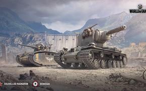 Picture tank, heavy gun, world of tank