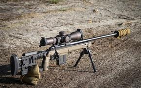 Picture optics, sniper rifle, Tikka CTR
