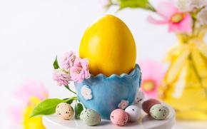 Wallpaper flower, holiday, eggs, spring, Easter, Easter, egg