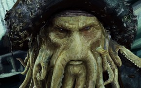 Picture Figure, Pirate, Pirates of the Caribbean, Davy Jones, The Captain Of The Flying Dutchman