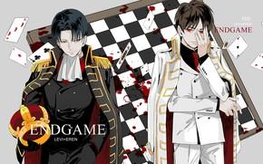 Picture guys, attack of the titans, Shingeki no Kyojin, Eren, Levi