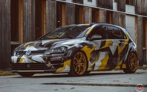 Picture Volkswagen, Forged, Golf, Vossen