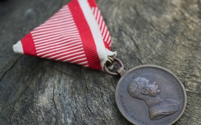Picture WW1, Austria Hungary, Medal for Bravery, Military medal