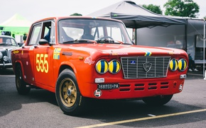 Picture car, the front, Lancia, Fulvia GT