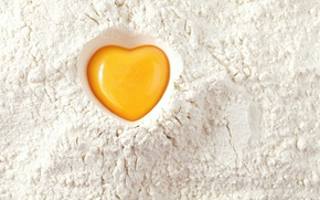 Picture background, texture, the yolk, flour
