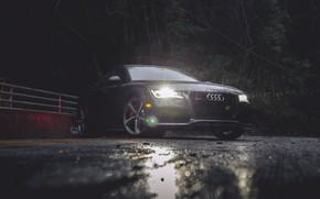 Picture Audi, Rain, VAG, RS7