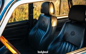 Picture blue, leather interior, 2104, bodybeat, wooden interior