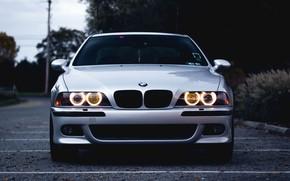 Picture BMW, E39, Silver