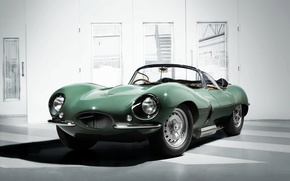 Picture Jaguar, Classic, Green, 1957, Room, XKSS