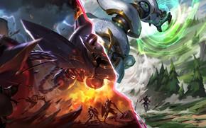 Picture Art, Splash, League of Legends, LoL, Artwork, League Of Legends, Blitzcrank, Launch Paragon, Launch Rogue, …