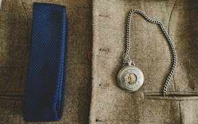 Picture watch, coat, pocket