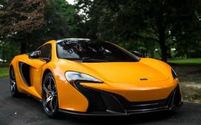 Picture McLaren, Spyder, Yellow, 650S