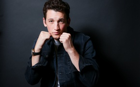 Picture pose, Boxing, actor, shirt, fists, photoshoot, stand, for the film, Miles Teller, Miles Teller, Bleed …