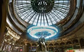 Picture the building, statue, the dome, Rememberme, place passage parisien