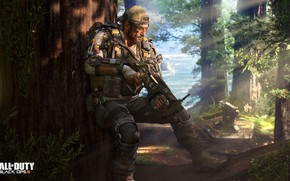 Picture forest, soldiers, call of duty, black ops 3