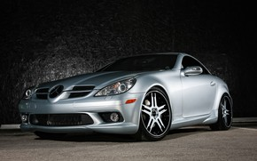 Picture Mercedes, wheels, color, SLK, Giovanna, lowered, matched