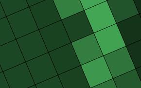 Wallpaper material, color, line, design, texture, green, squares