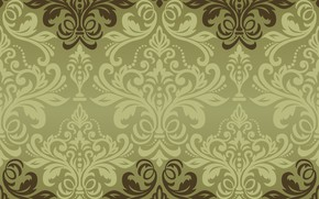 Picture vector, texture, ornament, background, pattern, classic, grin, seamless, damask