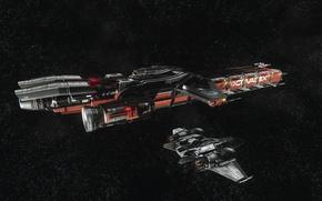 Picture starship, Star Citizen, Drake