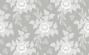 Wallpaper flowers, retro, Wallpaper, texture, vintage, flower, texture, background, pattern, seamless