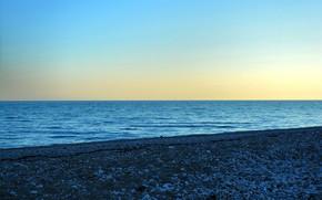 Picture Sunset, Sea, Shore, The black sea