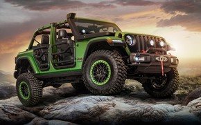 Wallpaper 2018, Wrangler, Jeep, Unlimited Rubicon Moparized