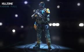 Picture gun, game, Killzone, armor, weapon, Killzone Shadow Fall