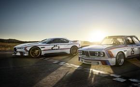 Picture Concept, Sunset, The sun, Auto, Machine, Dawn, BMW, Hommage, Bavarian, BMW 3.0 CSL, Hommage R, …