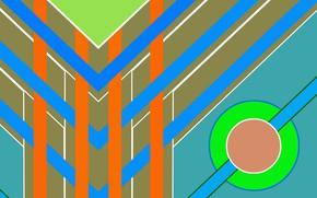 Picture Wallpaper, colored, figure