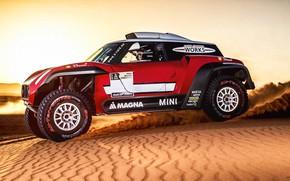 Picture Sand, Red, Mini, Sport, Desert, Rally, Dakar, Dakar, Rally, Buggy, Buggy, X-Raid Team, MINI Cooper, …