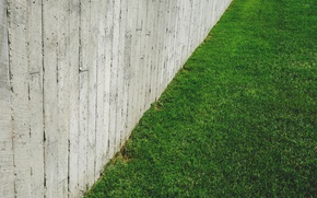 Picture grass, the city, lawn, minimalism, concrete, concrete
