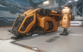 Picture starship, Star Citizen, Argo