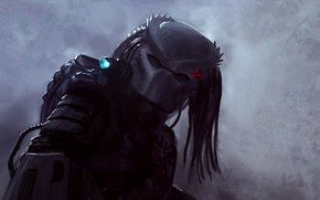 Picture predator, alien, Predator, thing