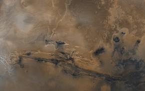 Picture Mars, sea, Valles Marineris