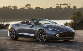 Picture Aston Martin, the evening, Zagato, Vanquish, Volante, 2017