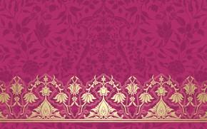 Wallpaper Pattern, Pink Background, Texture