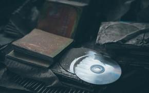 Picture dust, dirt, CDs