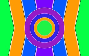 Picture color, bright, figure, different, abstract