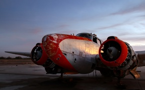 Picture background, the plane, 1957 PV-2 Harpoon
