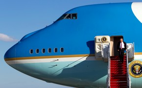 Picture Boeing 747, Air force one, Air Force One, Donald John Trump, Donald John Trump, The …