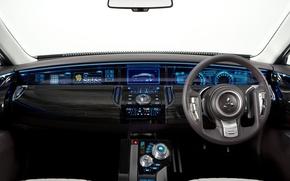Picture the wheel, Mitsubishi, salon, dashboard