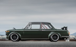 Picture Auto, Retro, BMW, Machine, Boomer, Car, 2002, Coupe, Old, Side view, BMW 2002 Turbo, Stancenation, …