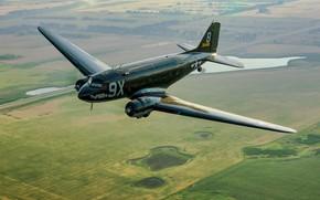 Picture Douglas, C-47, Dakota