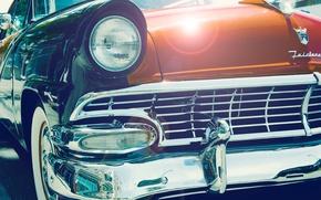 Picture Auto, headlight, before, vintage, vintage car, Vintage car, Classic Cars