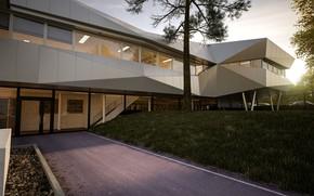 Picture architecture, the building, design, Hotel Agglo