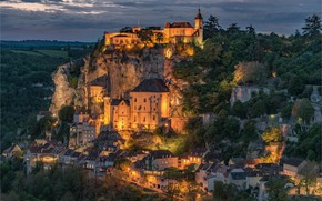 Picture the city, view, beauty, Rocamadour